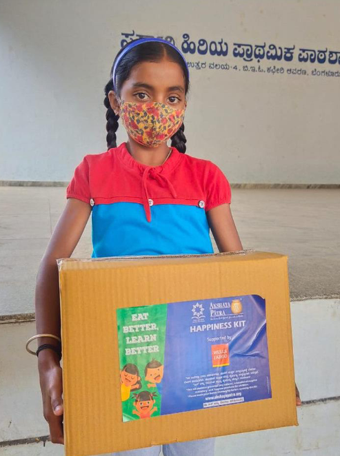 Fight against hunger with Akshaya Patra