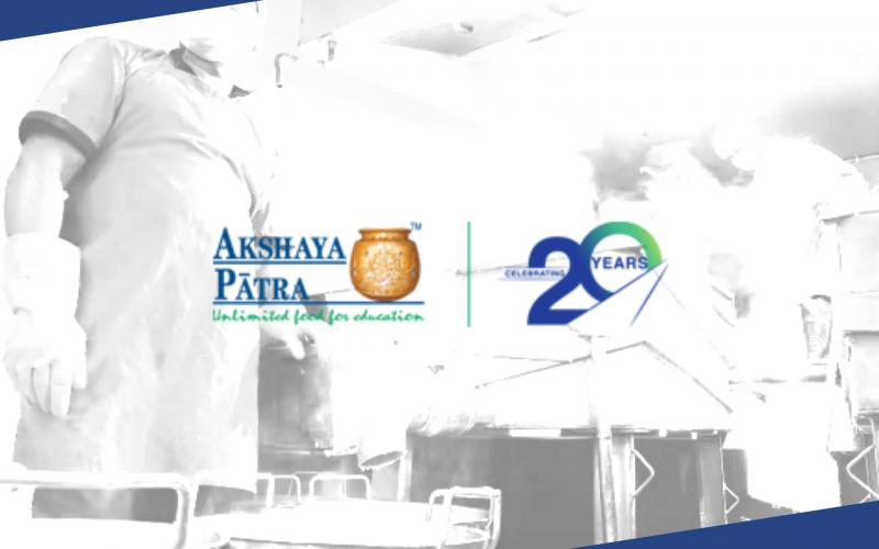 20 Years of Akshaya Patra Service_Blog Banner