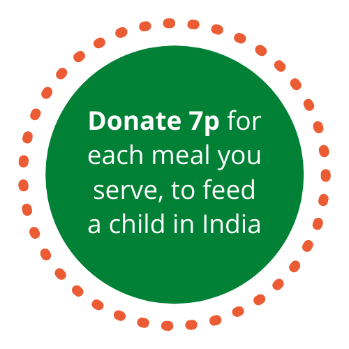 Donate 7p for each meal